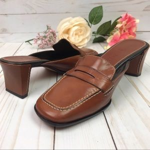 Cole Haan Country Leather Mule Loafers 6